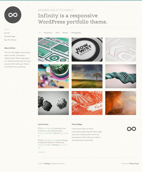 infinity-wordpress-theme