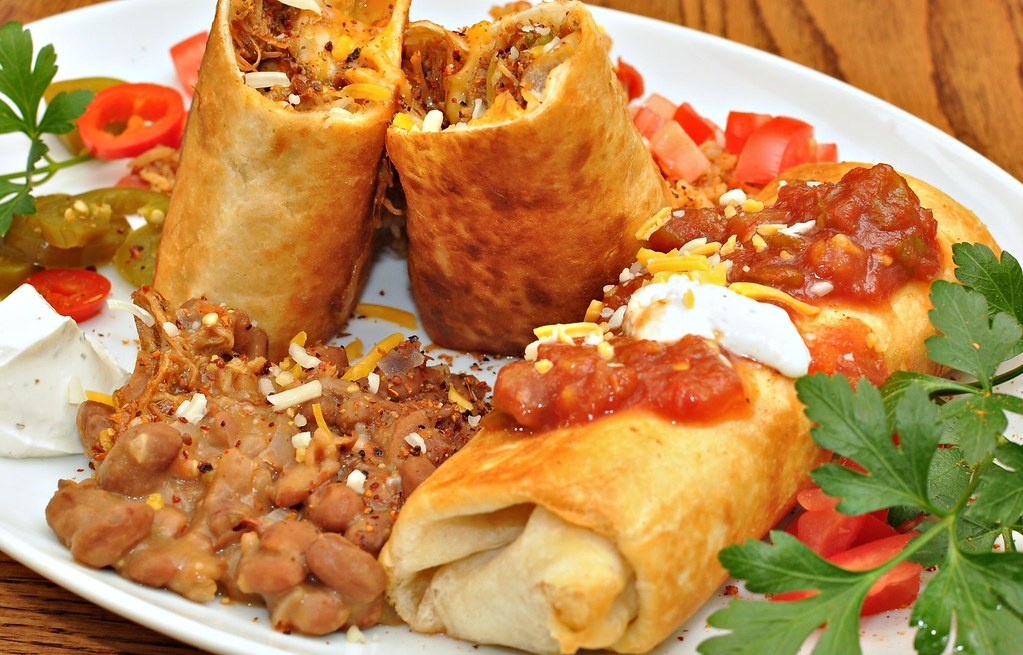 Mmm... chimichangas