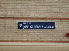 Calle De Jose Gutierrez Abascal