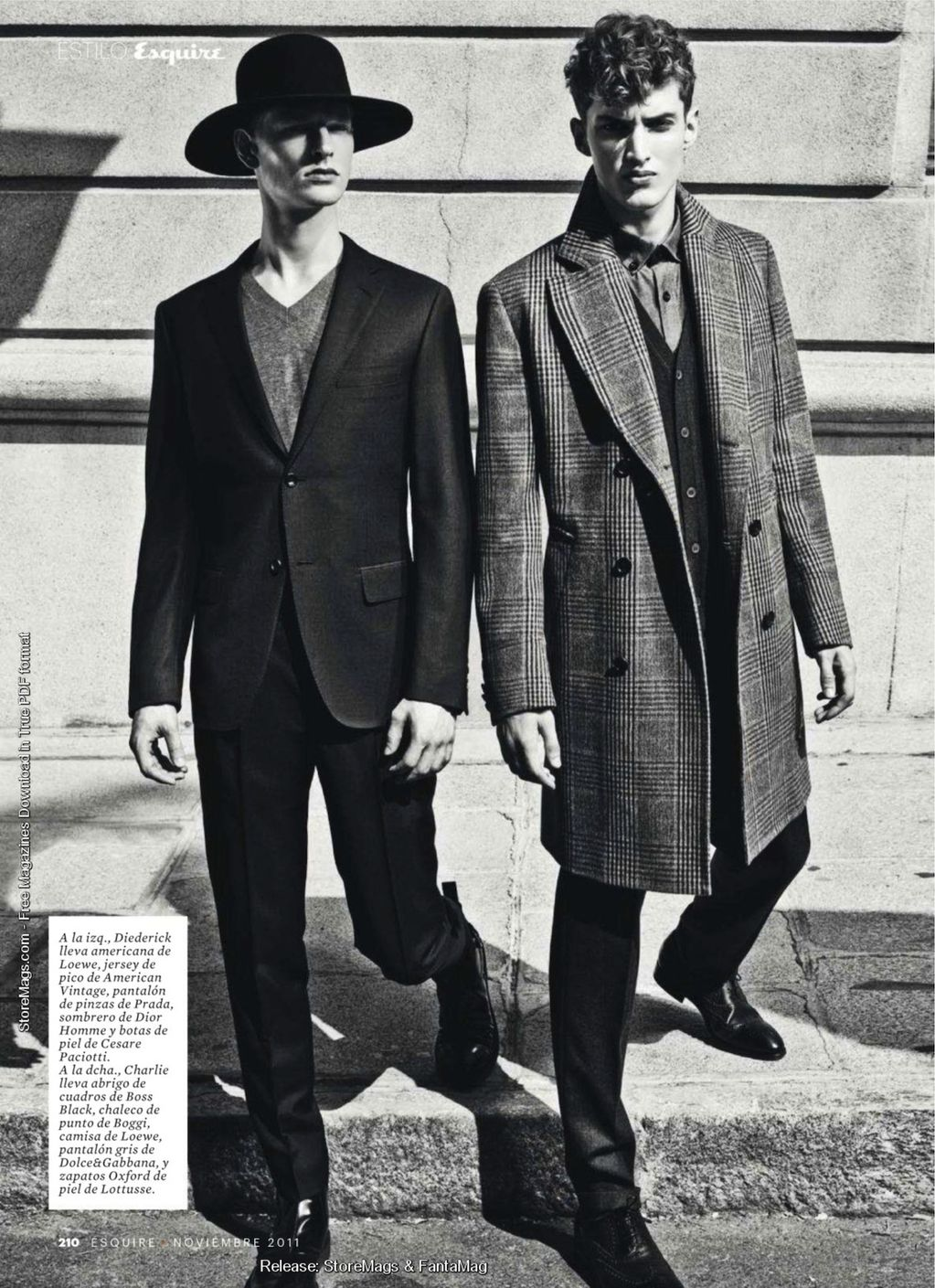 Esquire Spain December 2011_028Charlie France,Diederik Van der Lee(Flashbang@TFS)