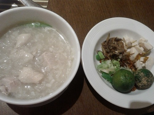 arroz caldo from floating island