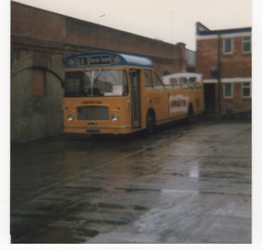 southern vectis 864 tdl864k rell6g ecw 25.8.1986