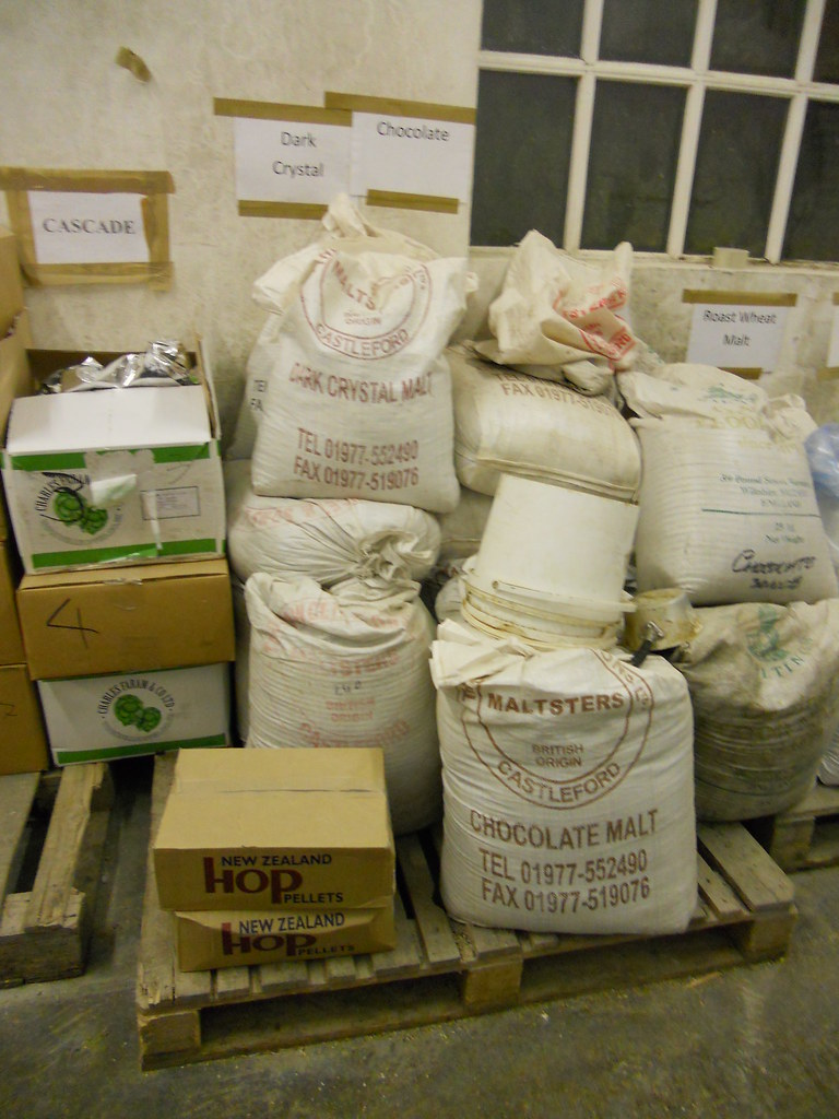A selection of Malts and Hops