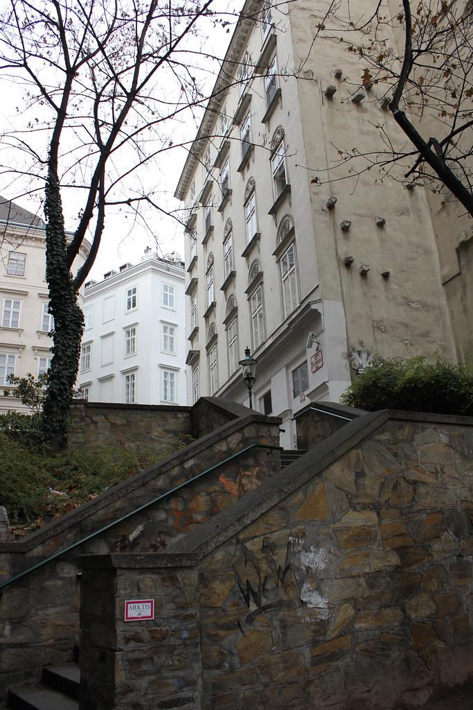 Escaleras en Viena