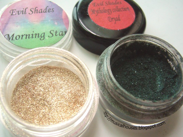 gold green christmas eye look evil shades morning star dryad