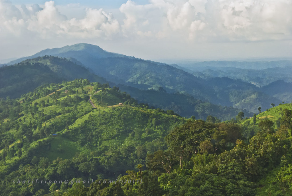 Bandarban Chimbuk Range Hill View From Nilgiri