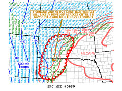 SPC Mesoscale Discussion - May 24, 2010
