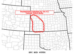 May 23 - SPC Meso Discussion - Kansas