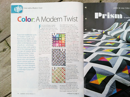 Quiltmaker Article