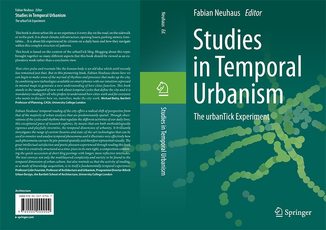 Studies in Temporal Urbanism Cover