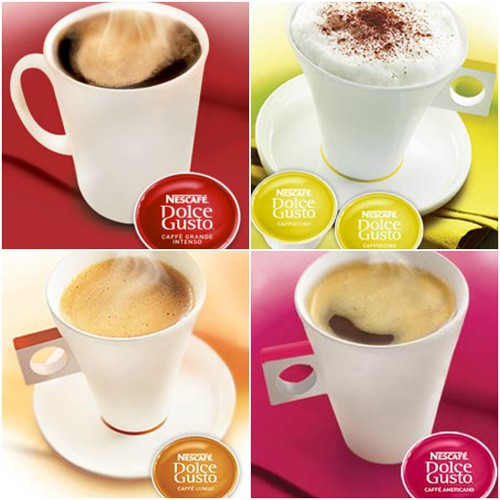 nescafe collage