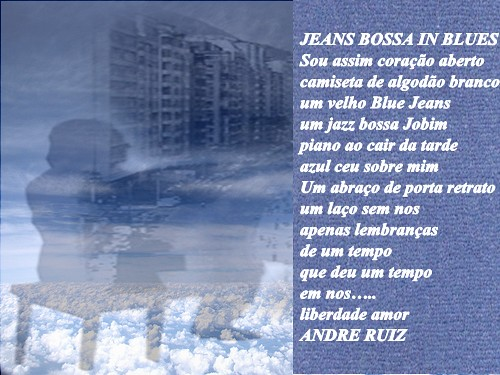 JEANS BOSSA IN BLUES
