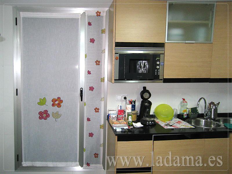 Visillos para cristales cocina visita nuestra web www for Estores para la cocina