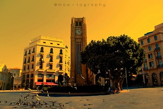 Image of Downtown. lebanon clock canon eos rebel downtown center beirut 550d t2i moetography