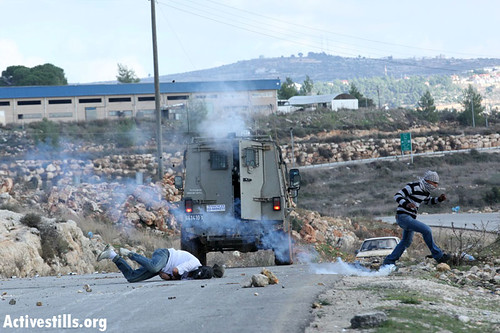 One critically injured in Nabi Salih demonstration, West Bank, 09.12.2012