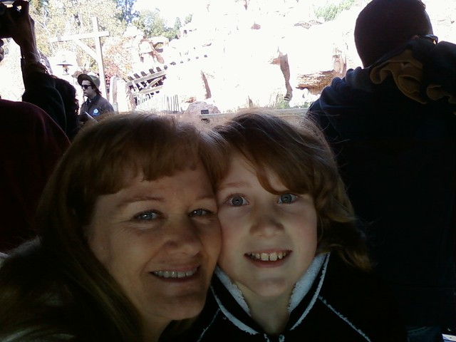 Disneyland's Thunder Mountain 12/4/11