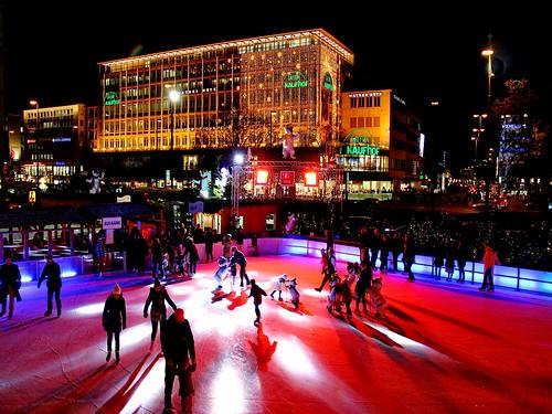 christmas skating by werner boehm *
