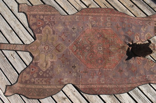 Etsy persian upcycled bear rug by Concu 3