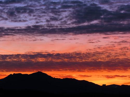sunset landscape northcarolina blueridgeparkway grandfathermountain westernnorthcarolina southernappalachians ccbyncsa ravenrockoverlook canonpowershotsx40hs