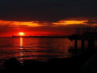 Bayraklı Sunset