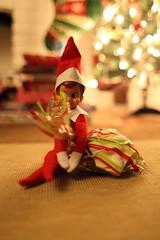 elf on the shelf - Wally