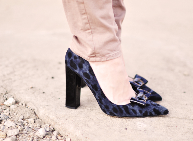 kate spade shoes - leopard print shoes with bows