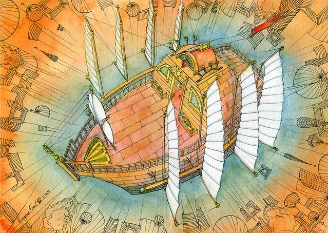 Atlantis Airship 2