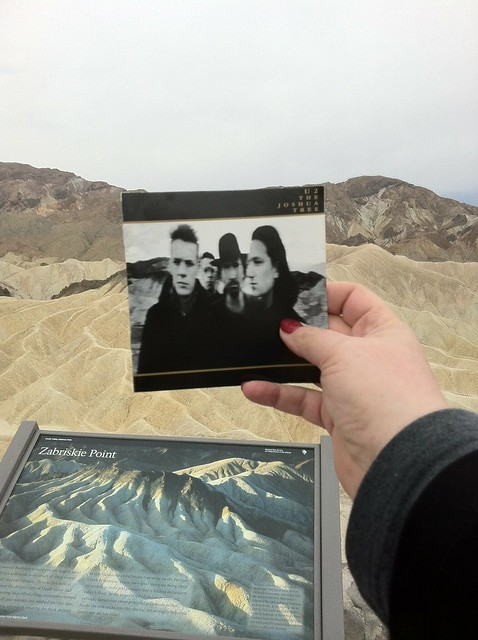 Zabriskie Point. Album cover.