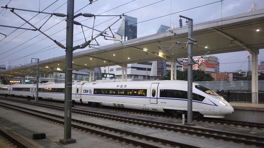 China Railways CRH3 Train