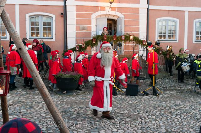 Vanhan Porvoon joulunavaus