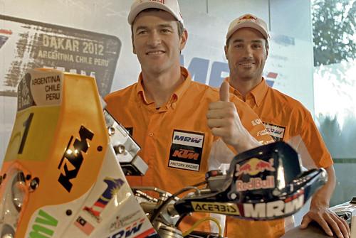 MRW KTM team 2012 Coma Pedrero