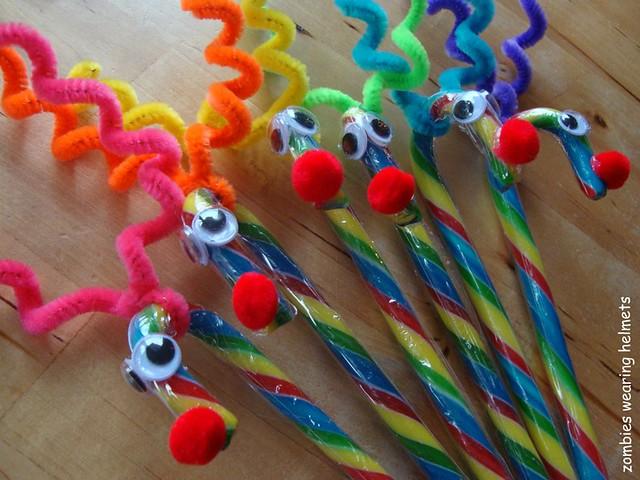 rainbow candy cane reindeer 2
