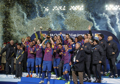 Barcelona Juara Piala Dunia Antar Club 2011