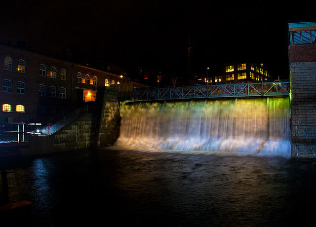 tampere waterfall
