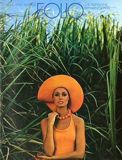 Saks Fifth Avenue Folio by Henry Wolf 1974