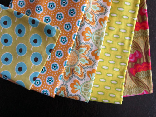 Fabric - Yellow with accents