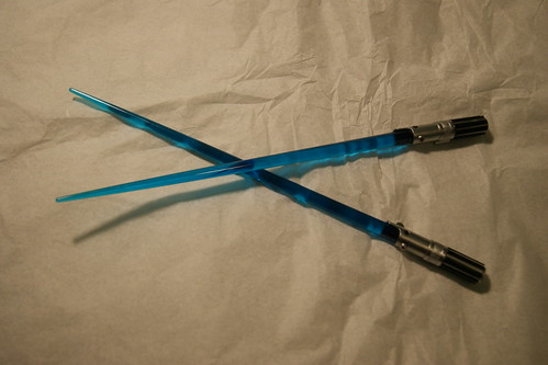 Lightsaber-Chopsticks!