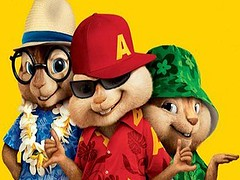 Alvin and Chipmunks: Chipwrecked poster