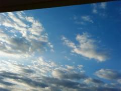 【写真】朝の雲