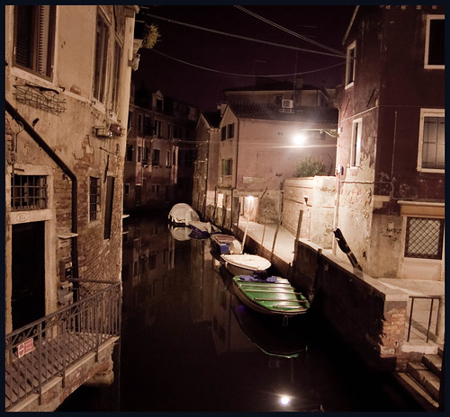 venice by night by hans van egdom