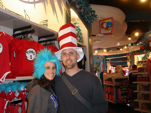 Cat and the Hat & Thing 1