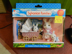 Sylvanian Families bunny family