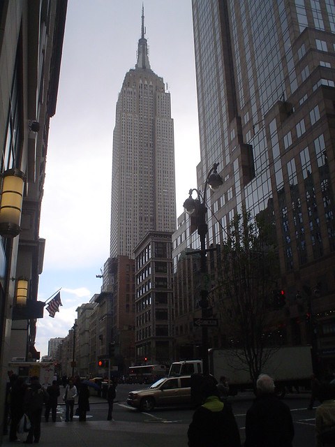 empire state building new york city usa