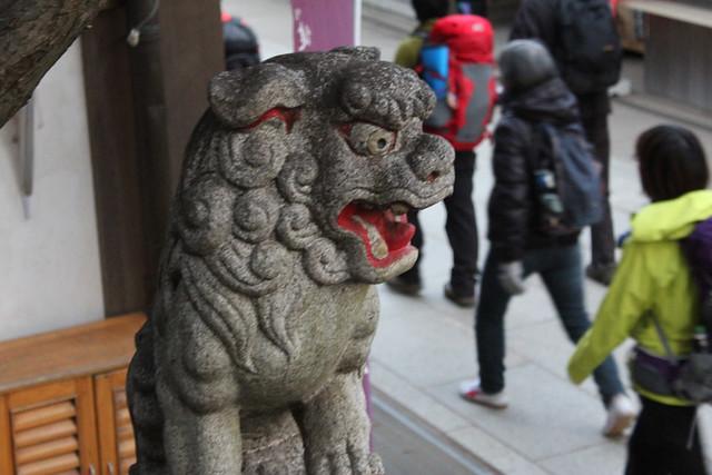 高尾山狛犬
