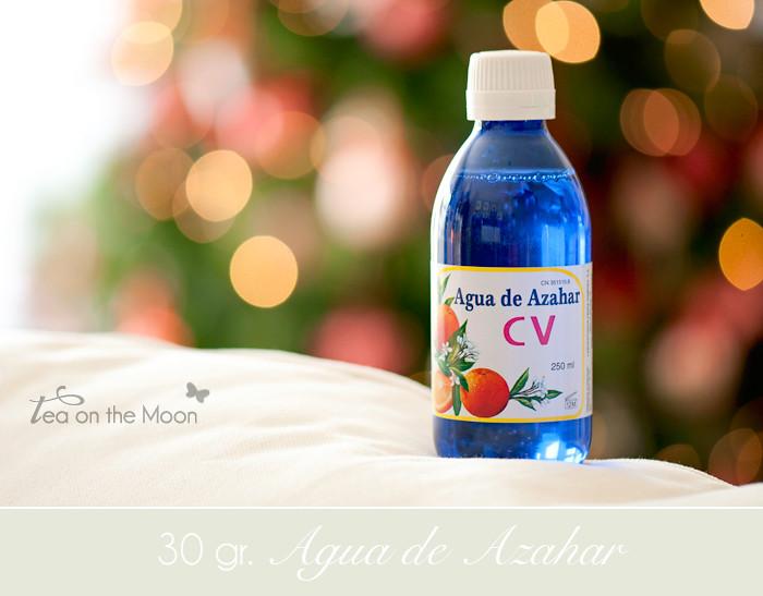 Ingredientes Agua de Azahar 1