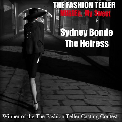 FT - Murder, My Sweet Cast: Sydney Bonde by Fashion Teller