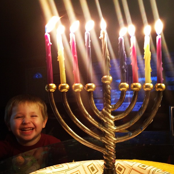 Happy last night of Hanukkah!