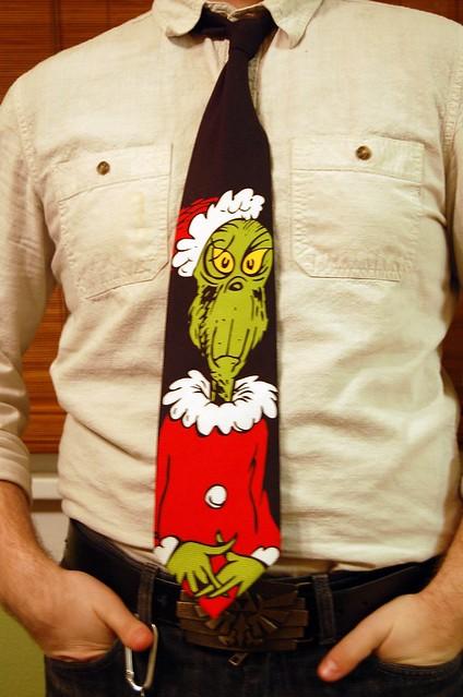 grinch tie