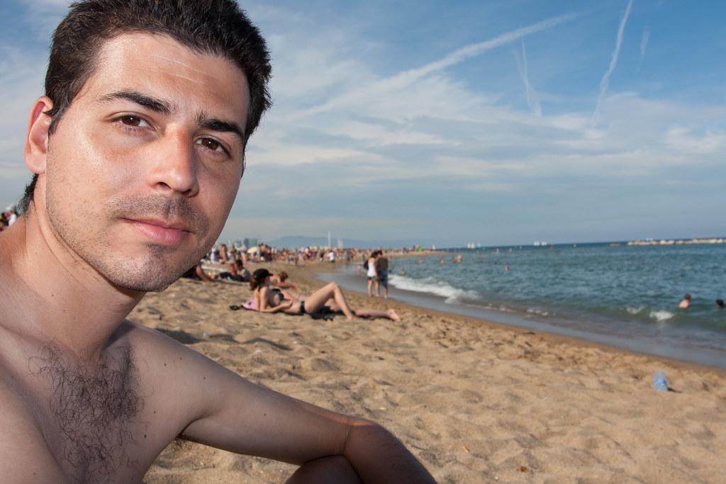 Eu em Barceloneta