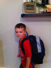 Brenden 1st Day At Kindergarten #1